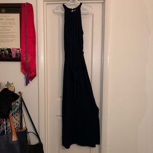 Old Navy Maxi Cotton Dress in Navy